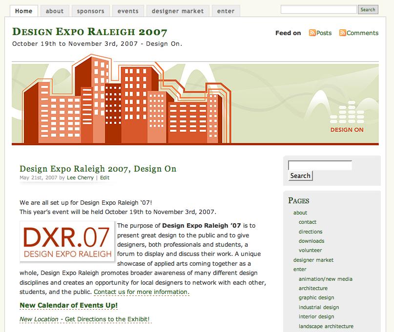 Design Expo Raleigh 2007